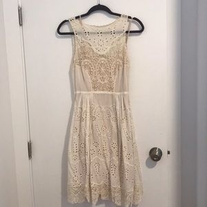Gorgeous Eyelet and Lace Dress